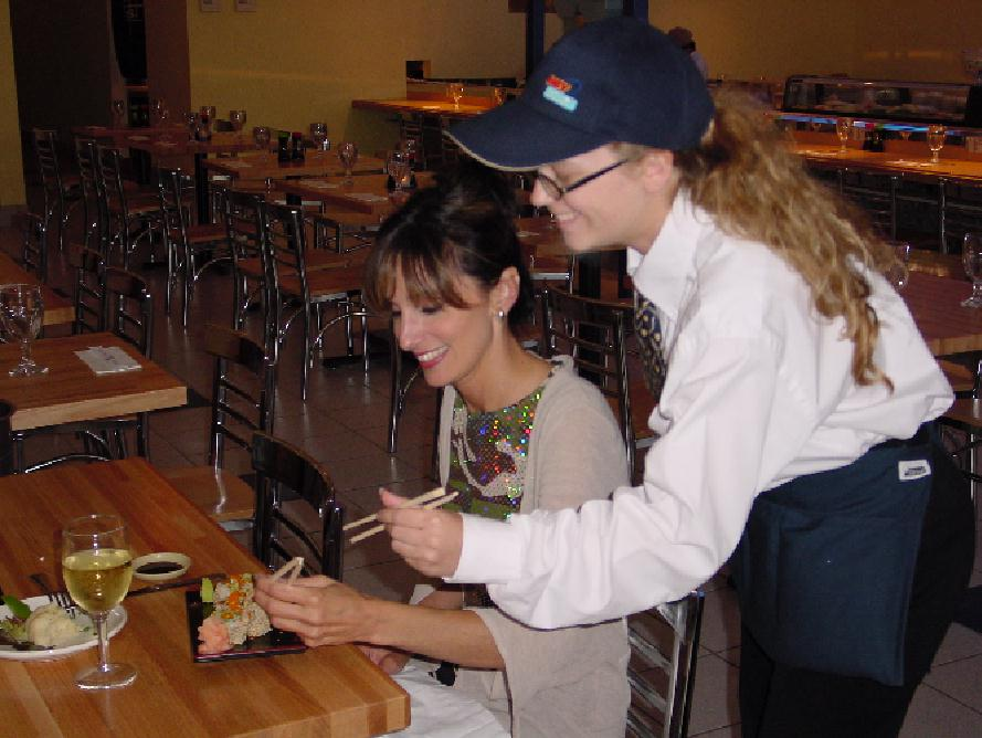 Beginner Sushi taught by our knowledgable staff.